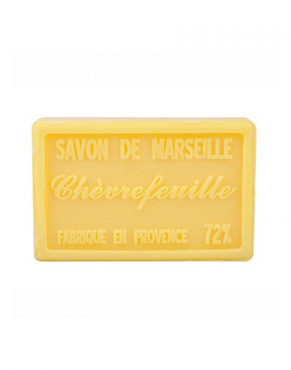 Savon de Marseille parfum Chèvrefeuille