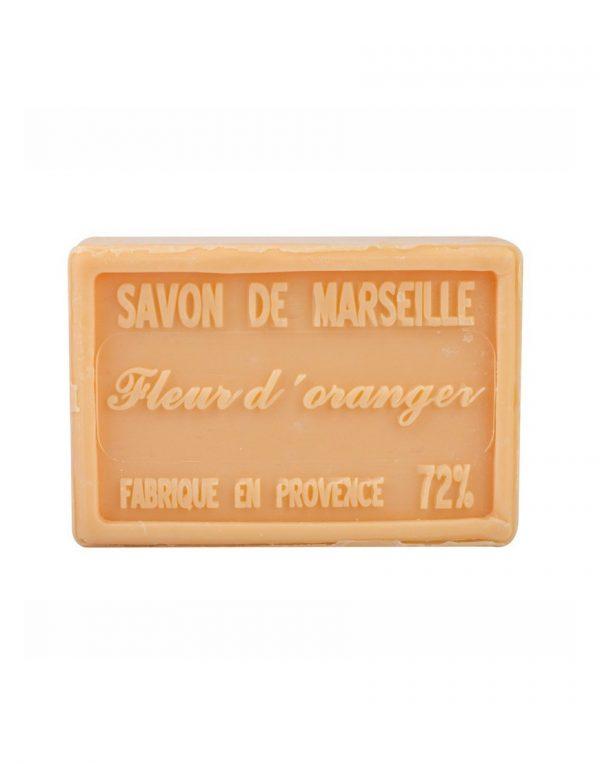 Savon de Marseille parfum Fleur d'Oranger