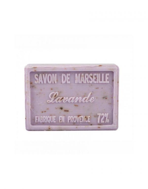 Savon de Marseille parfum Fleurs de Lavande