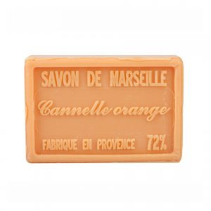 Savon de Marseille parfum Orange Cannelle