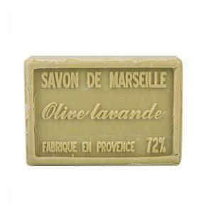 Savon de Marseille parfum Olive et Lavande
