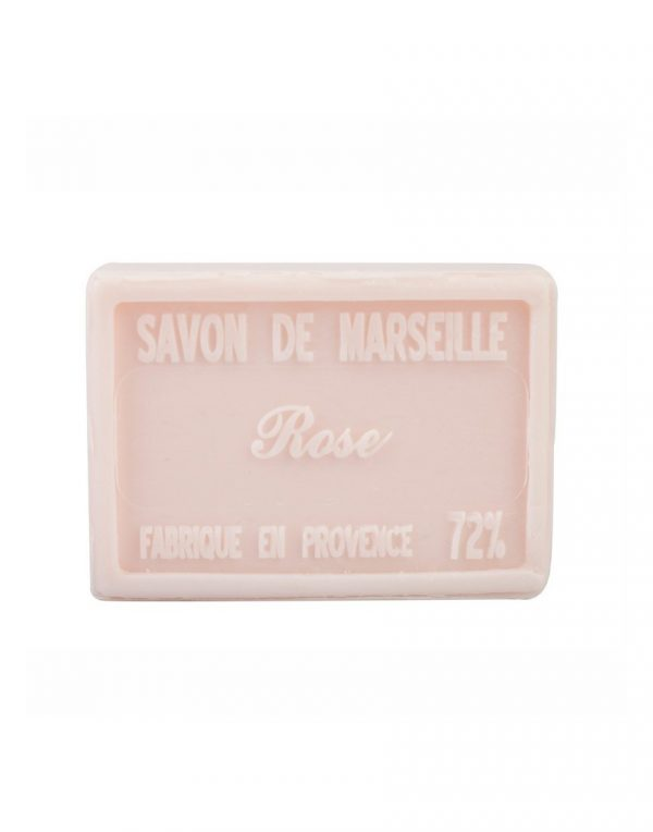 Savon de Marseille parfum Rose Églantine
