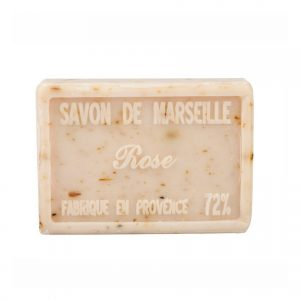 Savon de Marseille parfum Fleurs de Rose