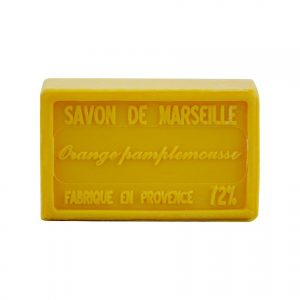 Savon de Marseille parfum Orange Pamplemousse