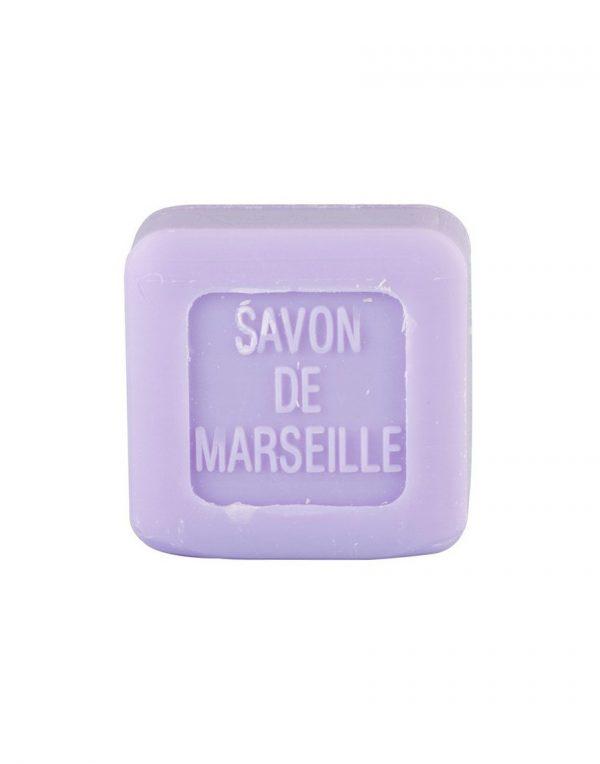 Mini Carré de savon de Marseille parfum Lavande