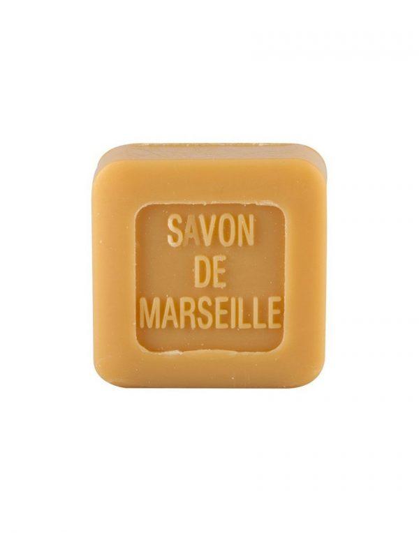 Mini Carré de savon de Marseille parfum Miel