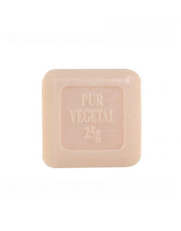 Mini Carré de savon de Marseille parfum Rose Eglantine