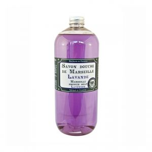 Savon douche de Marseille parfum Lavande (1L)