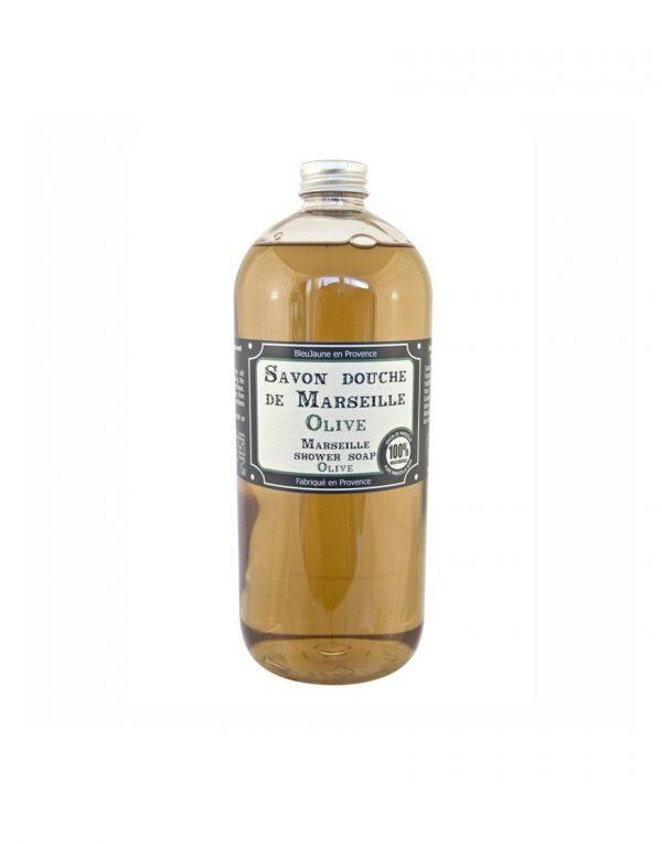 Savon douche de Marseille parfum Olive (1L)