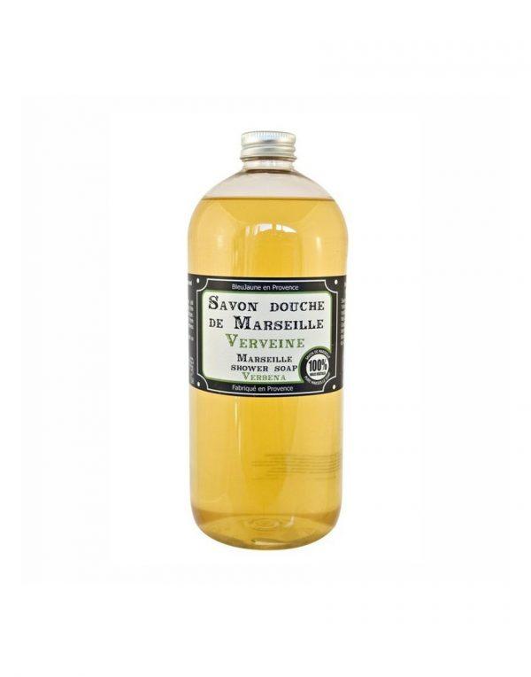 Savon douche de Marseille parfum Verveine (1L)