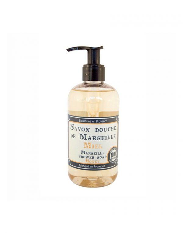 Savon douche de Marseille parfum Miel (300ml)