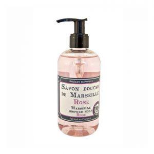 Savon douche de Marseille parfum Rose (250ml)