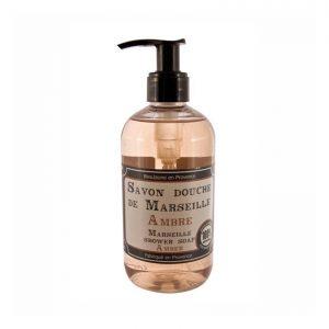 Savon douche de Marseille parfum Ambre (250ml)
