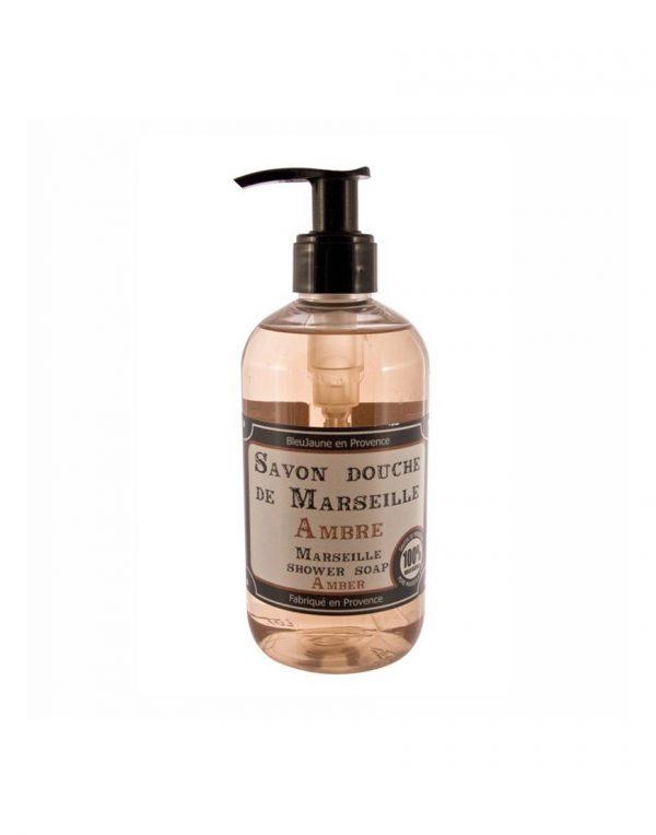 Savon douche de Marseille parfum Ambre (300ml)