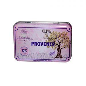 Boite Porte Savon Métallique modèle Provence