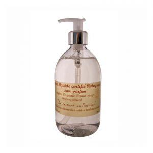 Savon BIO liquide Certifié Ecocert sans parfum (500ml)