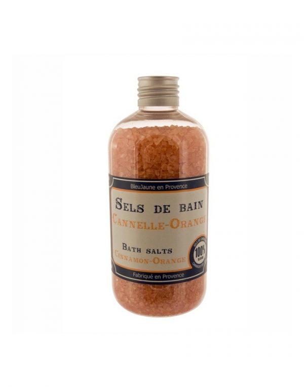 Sels de Bain Parfum Orange cannelle (400gr)