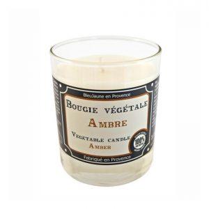 Bougie de Marseille 100% végétale parfum Ambre