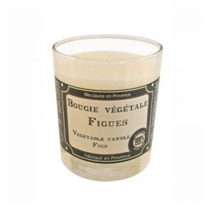 Bougie de Marseille 100% végétale parfum Figues