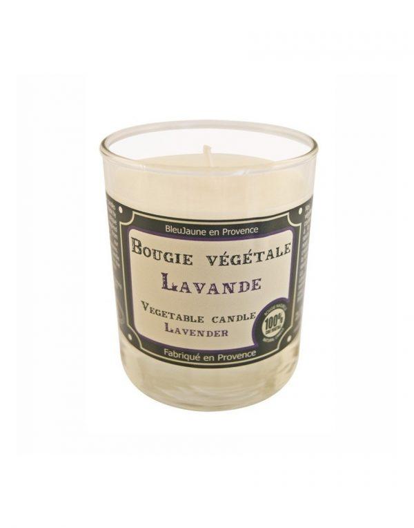 Bougie de Marseille 100% végétale parfum Lavande