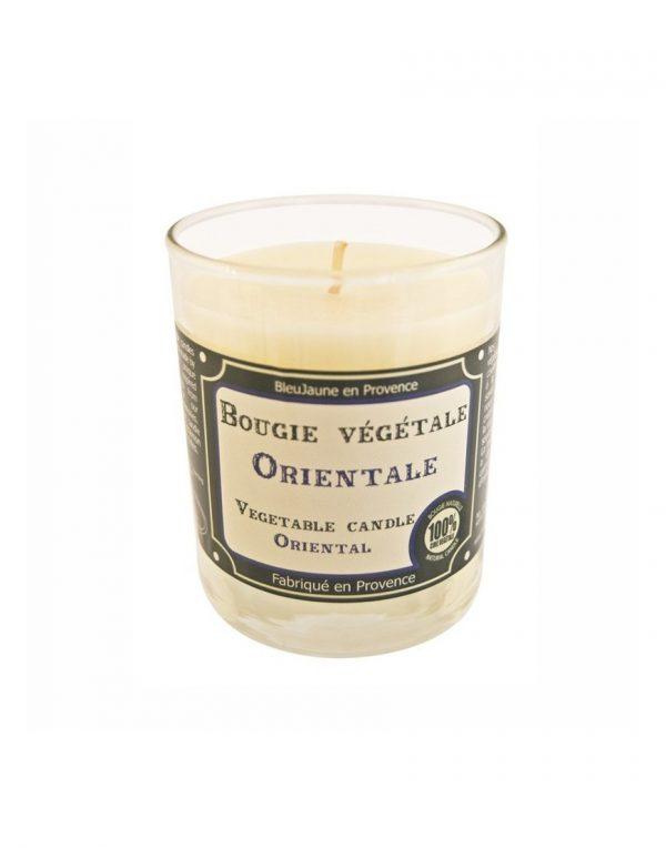 Bougie de Marseille 100% végétale parfum Orange Orientale