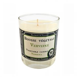Bougie de Marseille 100% végétale parfum Verveine