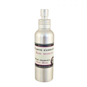 Spray diffuseur de parfum senteur Rose musquée
