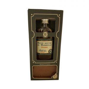 Etui Savons de Marseille parfum Ambre