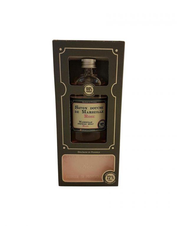 Etui Savons de Marseille parfum Rose